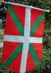 HAND WAVING FLAG - Basque